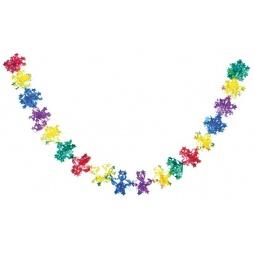 Купить Растяжка новогодняя Снегурочка звездная Н88419