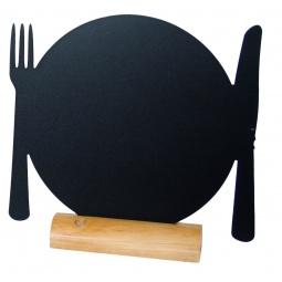 фото Набор: доска для заметок на палке и маркер Securit «Тарелка»