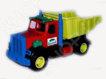 Самосвал игрушечный Лена карьерный «Трак» машины hti карьерный самосвал tonka