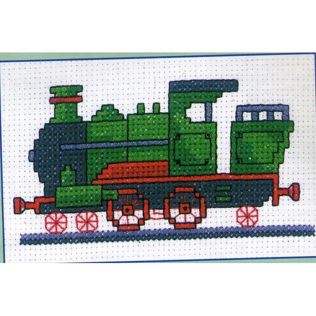 фото Набор для вышивания RTO «Поезд»