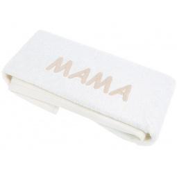 фото Полотенце подарочное с вышивкой TAC Мама. Цвет: бежевый