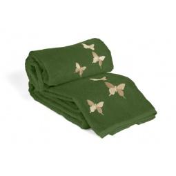 фото Комплект полотенец из махры Tete-a-Tete Т-МП-6200-04. Цвет: зеленый