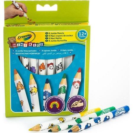 Купить Карандаши толстые для малышей Crayola 3678
