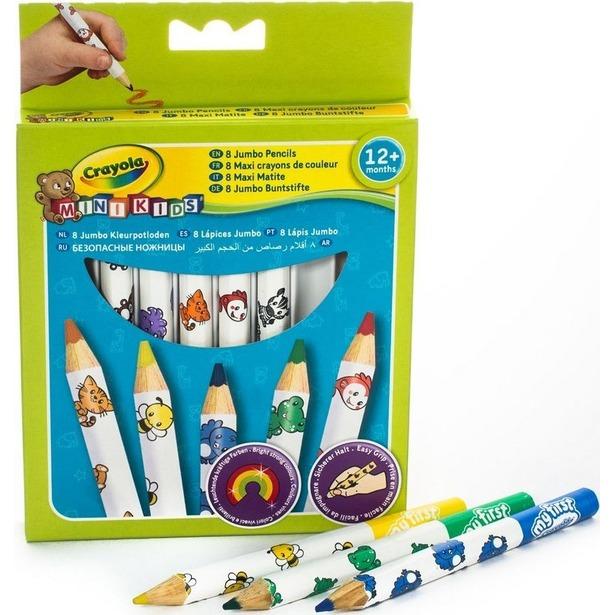фото Карандаши толстые для малышей Crayola 3678