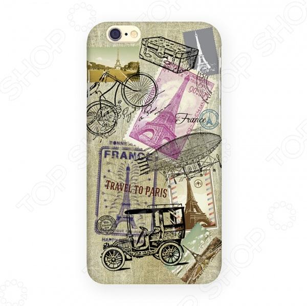 Чехол для iPhone 6 Mitya Veselkov «Ретро-Париж» чехол для iphone 6 mitya veselkov ретро париж