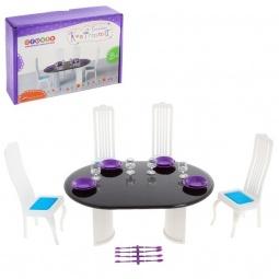 фото Мебель для куклы Огонек «Столовая Конфетти»