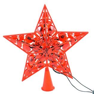 Купить Верхушка елочная Holiday Classics «Звезда. Кремлевские огни»