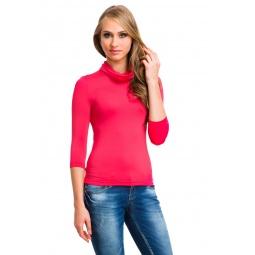 фото Водолазка Mondigo 211. Цвет: ярко-розовый. Размер одежды: 42