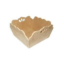Купить Заготовка из дерева Кустарь Сухарница с прорезями
