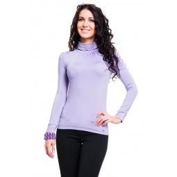 фото Водолазка Mondigo 146. Цвет: сиреневый. Размер одежды: 44