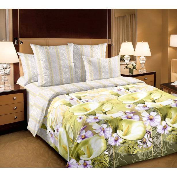 фото Комплект постельного белья Королевское Искушение «Амалия». 2-спальный. Размер простыни: 220х195 см