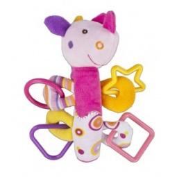 фото Мягкая игрушка развивающая Жирафики «Динозаврик с пищалкой»