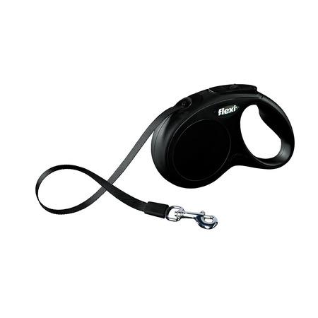Купить Поводок-рулетка Flexi New Classic XS. Цвет: черный