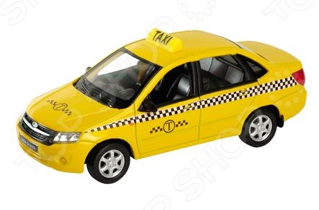 Машинка коллекционная Welly LADA Granta «Такси»