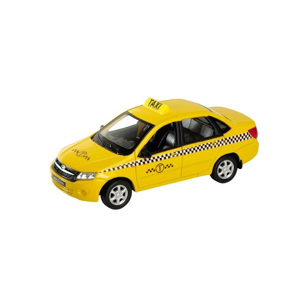 фото Машинка коллекционная Welly LADA Granta «Такси»