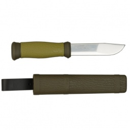 фото Нож туристический MORAKNIV Outdoor. Цвет: зеленый