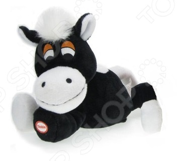 Мягкая игрушка интерактивная Woody O'Time «Лошадка смеющаяся» игрушки интерактивные woody o time интерактивная игрушка собака
