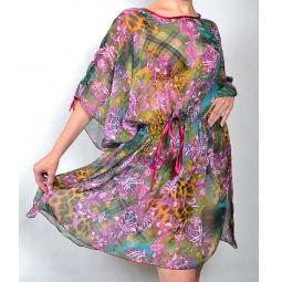 фото Туника Элеганс Сильвия. Цвет: фиолетовый. Размер одежды: 52-60