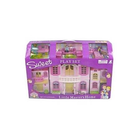 Купить Кукольный дом с аксессуарами Shantou Gepai «Дом мечты»