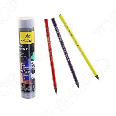 Набор карандашей цветных ADEL BlacklinePBT 211-2312-003