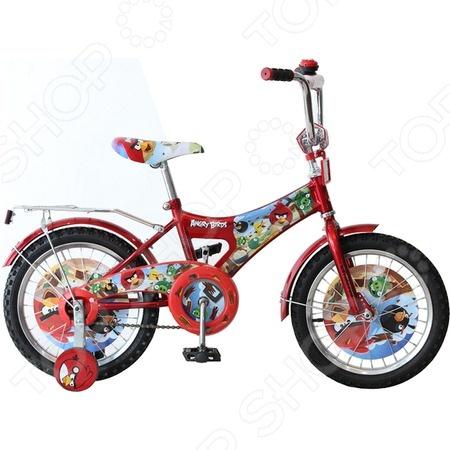 Велосипед детский Navigator ВН16073 «Angry Birds» navigator самокат детский двухколесный angry birds go цвет синий зеленый