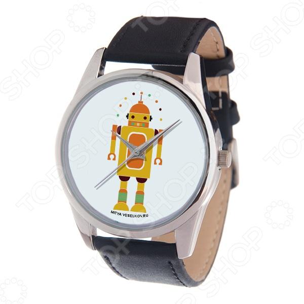 Часы наручные Mitya Veselkov «Влюбленный робот» MV