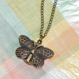 Купить Кулон-часы Mitya Veselkov «Бабочка в бронзе»
