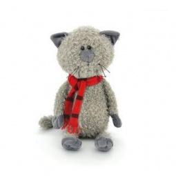 фото Мягкая игрушка для ребенка Orange «Кот Обормот в шарфике»