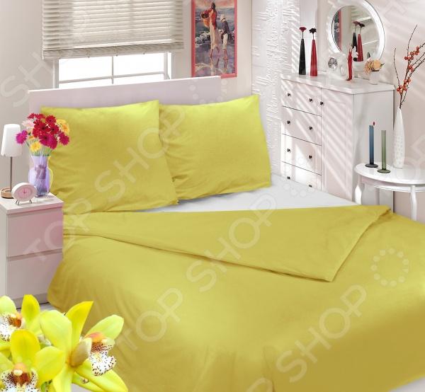 Комплект постельного белья Сова и Жаворонок «Тропическая орхидея» двуспальный комплект белья орхидея 3d 5067 1 вологодские кружева