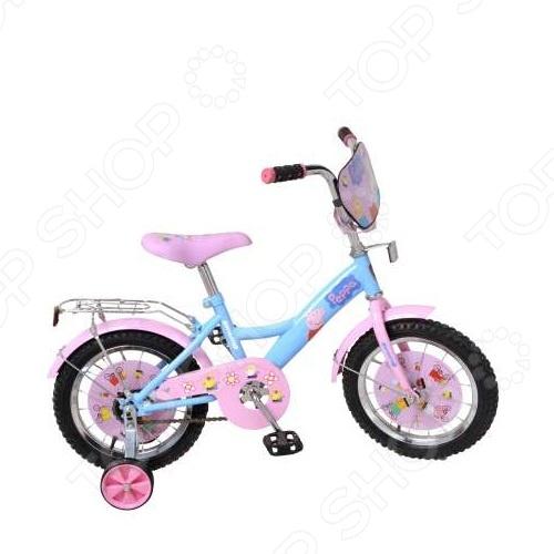 Велосипед детский Navigator ВН14137 «Peppa» велосипед двухколесный navigator superman 16