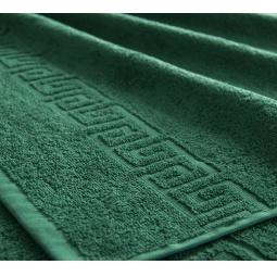 фото Полотенце махровое Asgabat Dokma Toplumy. Размер: 100х180 см. Цвет: темно-зеленый