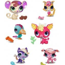фото Набор игровой для девочек Littlest Pet Shop Зверюшки. Любители сладостей. В ассортименте