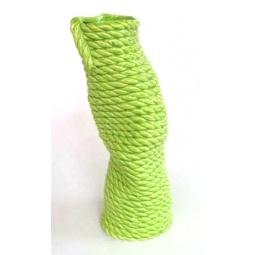 фото Ваза Феникс-Презент «Плетенка». Цвет: зеленый