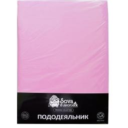 фото Пододеяльник гладкошерстный Сова и Жаворонок Premium. Цвет: светло-фиолетовый. Размер пододеяльника: 200х220 см