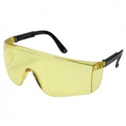 фото Очки защитные Stayer с регулируемыми по длине дужками. Цвет линзы: желтый