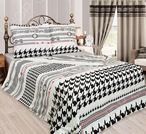 Комплект постельного белья Сова и Жаворонок «Мистер Икс» для спальни