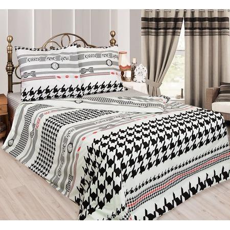 Купить Комплект постельного белья Сова и Жаворонок «Мистер Икс». 1,5-спальный