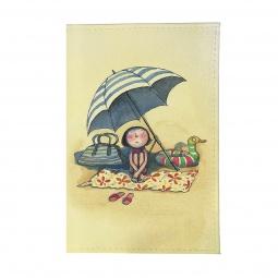 фото Обложка для автодокументов Mitya Veselkov «Девочка на пляже»