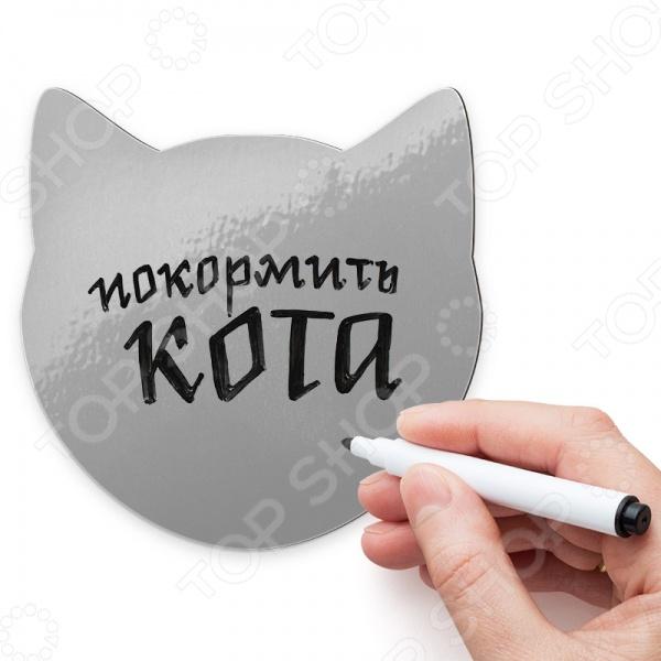Магнит для записей Melompo «Кот» гигантский магнит на холодильник кот проглот