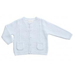 фото Кардиган на пуговицах для младенцев Angel Dear Boy`s Cardigan. Рост: 56-58 см