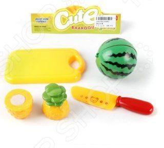 Игровой набор для ребенка Shantou Gepai 6488JСюжетно-ролевые наборы<br>Игровой набор для ребенка Shantou Gepai 6488J - интересный и полезный подарок для вашего малыша. Такой набор отлично подойдет для детской кухни или для игр в куклы. Так же овощи и фрукты можно использовать для игр в магазин. Кроме того, набор может служить обучающим пособием, с помощью которого малыш быстрее изучит различные виды фруктов и овощей и ознакомиться с их внешним видом.<br>