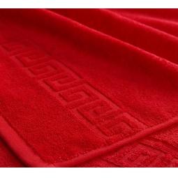 фото Полотенце махровое Asgabat Dokma Toplumy. Размер: 40х70 см. Цвет: красный