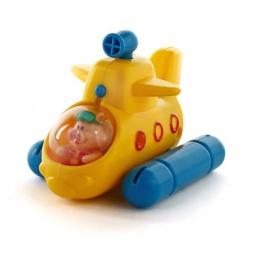 фото Игрушка для ванны Жирафики «Гонки заводные. Лодка»