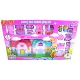 фото Кукольный дом с аксессуарами Shantou Gepai 628745