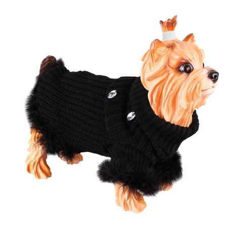 Купить Свитер для собак DEZZIE «Бетти». Цвет: черный