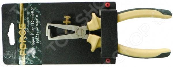 Клещи для снятия изоляции Force F-6804B160 клещи для снятия изоляции в наборе quadro jokari jk 60000