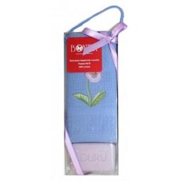 фото Комплект из вафельного полотенца и мыла подарочный BONITA «Фиалка»