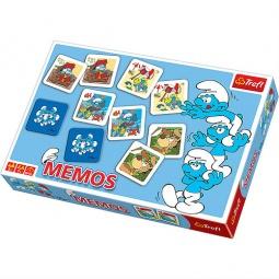 Купить Игра Мемо Trefl «Смурфики 2»