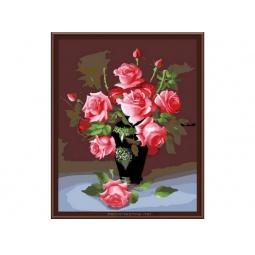 Купить Набор для рисования по номерам «Белоснежка» Букет роз