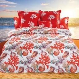 фото Комплект постельного белья Унисон «Океания». 1,5-спальный